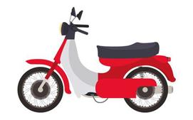Giữ xe máy