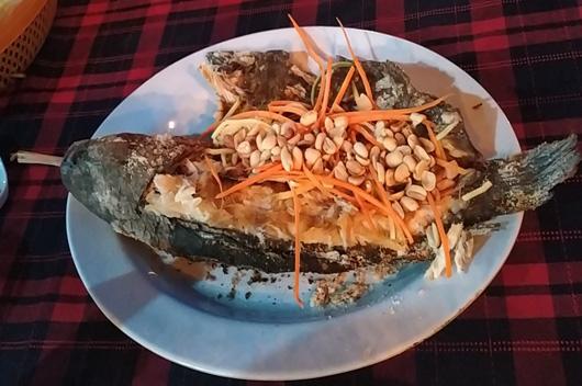 Cá Tràu Nướng