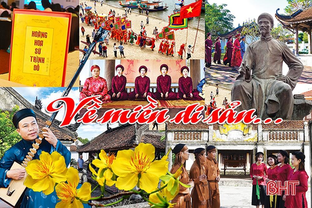 Cả cộng đồng tham gia gìn giữ di sản ở Hà Tĩnh