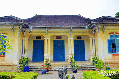 Ancient house of Mr. Tran Ba The