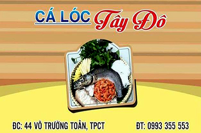 Tay Do Snakehead Restaurant