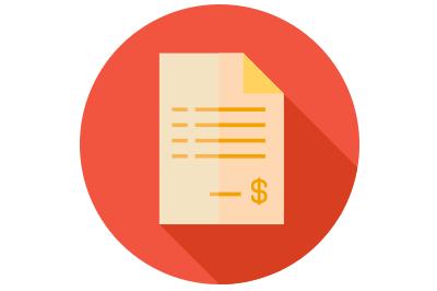 Red invoice