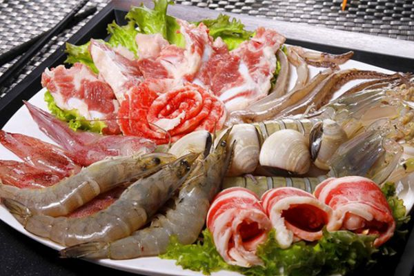 Lẩu nhúng hải sản