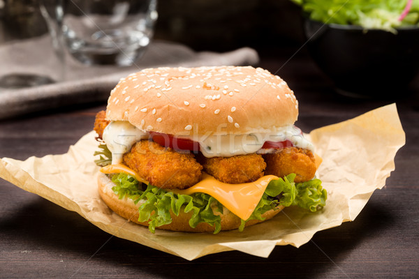 Fish Hamburger